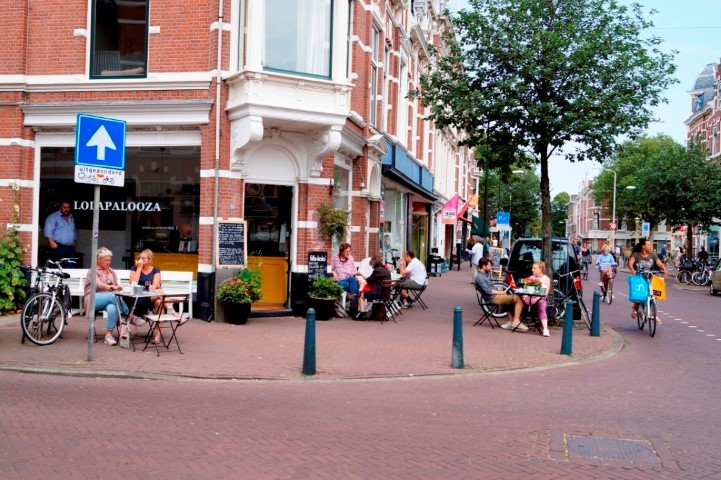 Weimarstraat Shopping Area