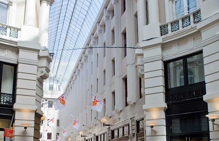 The Passage Shopping Area